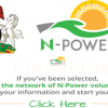 Check Npower Result - Npower Login Portal npower.gov.ng
