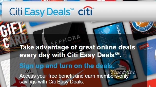 Citibank Online Sign In >> Citi Easy Deals Login Citieasydeals Com How Easy To Sign On